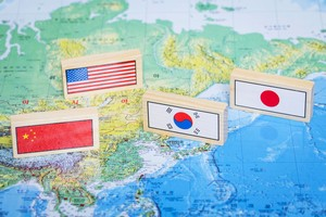 2021年4月、バイデン政権発足後初めてとなる対面での日米首脳会談が行われ、共同声明が発表された。この内容に台湾、香港、ウイグル問題などが盛り込まれたことに、中国側は強い反発を示している。(イメージ写真提供:123RF)